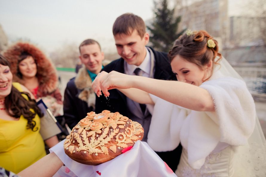Поздравление на свадьбе от родителей хлеб 351