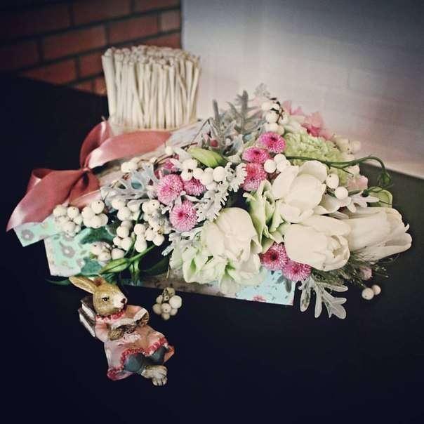 "Фото 11540918 в коллекции Портфолио - Студия декора и флористики ""Magnolia flowers"""
