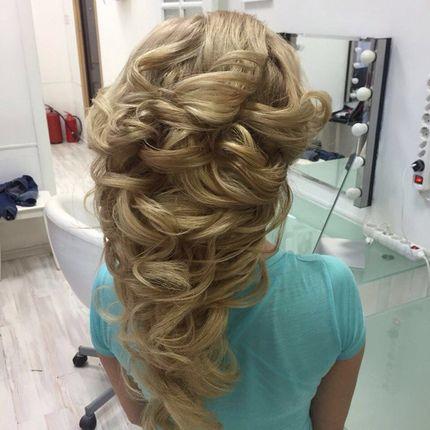 Причёска для длинных волос 2-2,5 часа