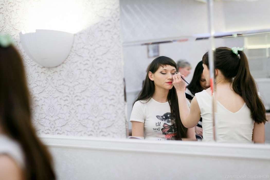 Я за любимой работой) - фото 11600096 Выездной салон красоты