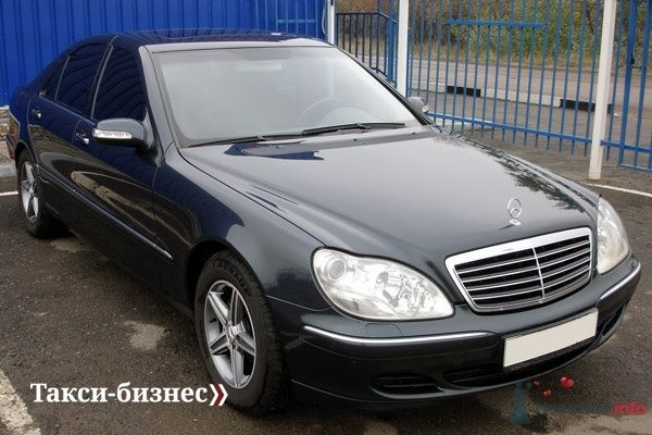 Mercedes S220 Long - фото 31209 Невеста01