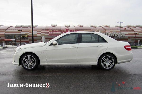 Mercedes E212 белый - фото 44863 Невеста01