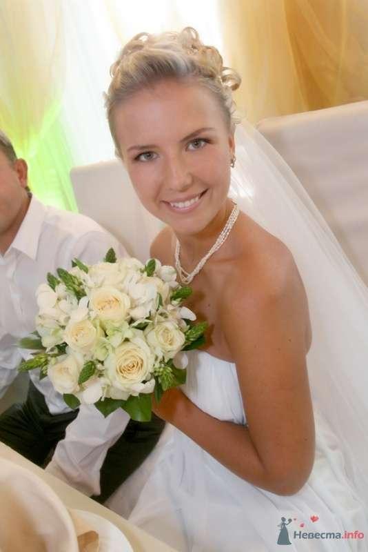 Свадебная прическа в греческом стиле, свадебный макияж - фото 67112 Стилист-визажист Кандалова Елена