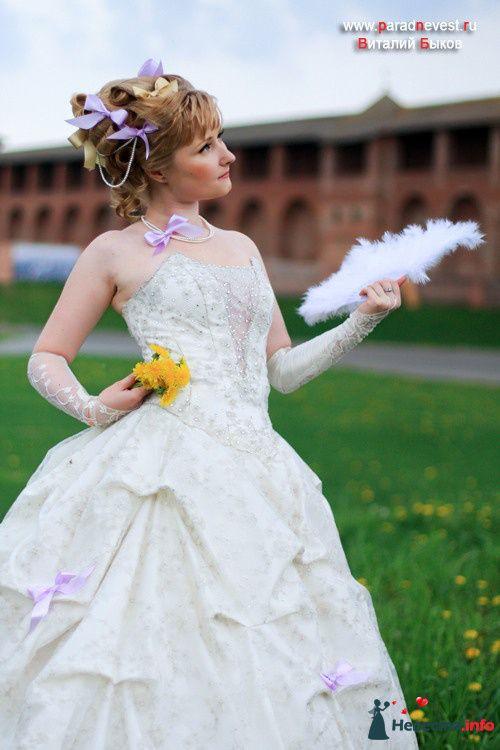 Юлия. Образ Россия XVIII в Парад невест в Коломне 2010