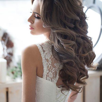Свадебная прическа и макияж без репетиции