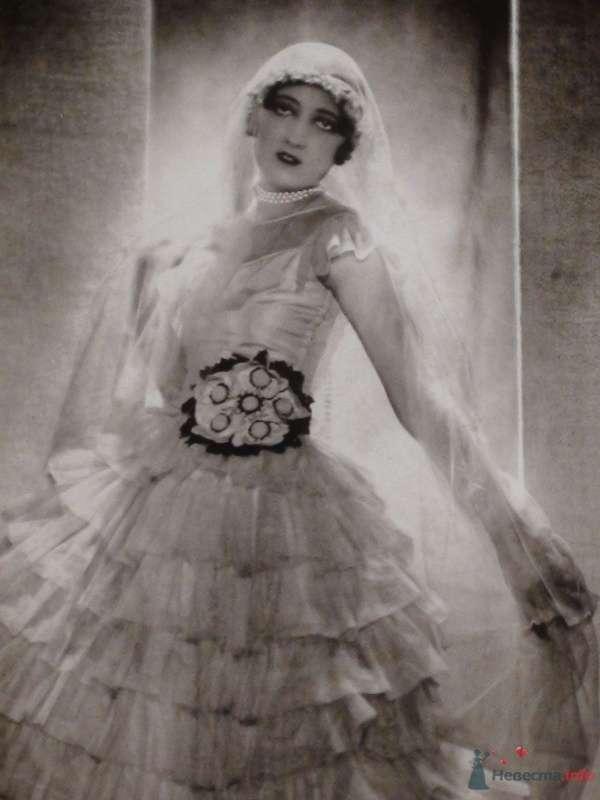"""Манекенщица Тея Бобрикова в свадебном платье работы дома мода """"Ланвен"""", париж, 1928 - фото 60310 Солнышонок"""