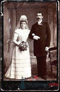 Свадебное фото, 1889 год - фото 60909 Солнышонок