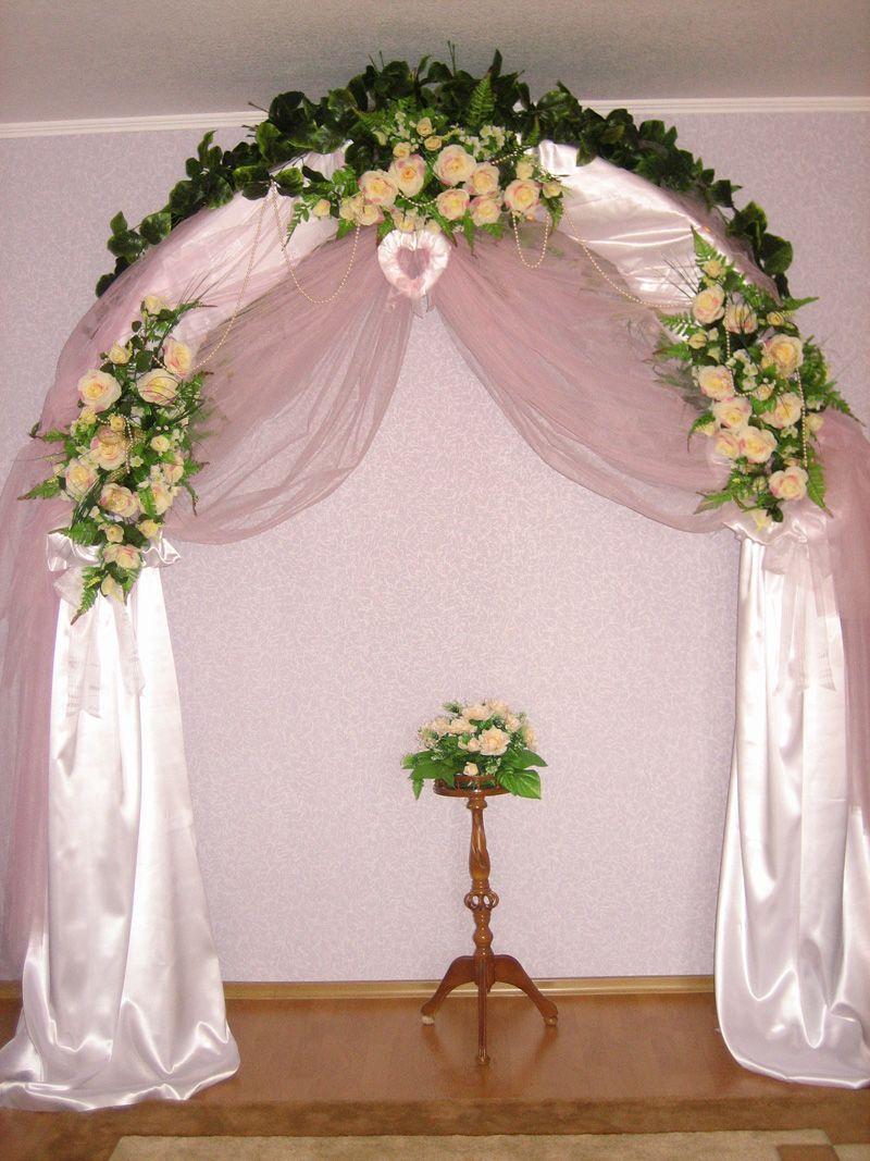 Сделать арку на свадьбу своими руками фото пошагово