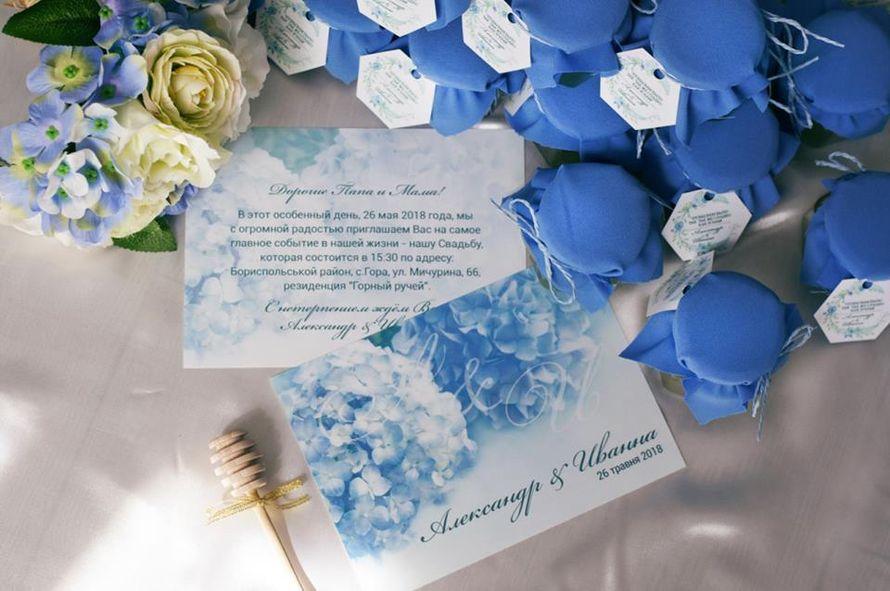 """Также делаем пригласительные на свадьбу, план рассадки гостей и другую полиграфию на свадьбу . - фото 17613534 Компания медовых подарков """"Sweet honey"""""""
