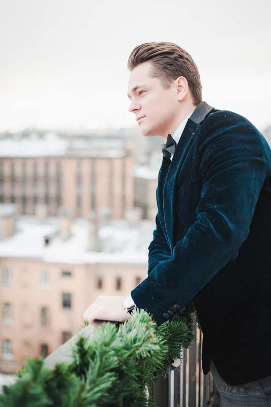 Жених, зимняя фотосессия - фото 13396308 Фотограф Юлия Sweet-kadr