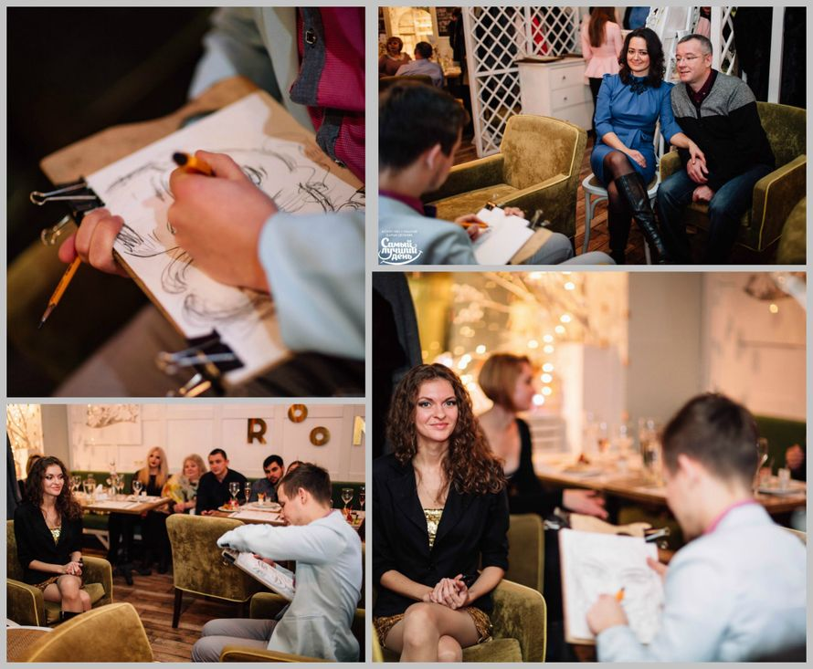 Фото 14813824 в коллекции Рисую Шаржи на праздничных мероприятиях!!! - Алексей Магомедов - художник-шаржист