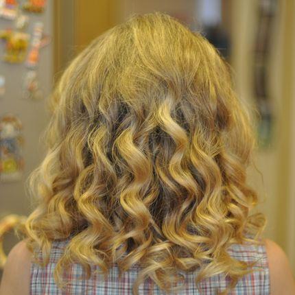 Укладка коротких волос, 40-50 минут, выезд на дом