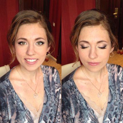 Прическа + макияж , цена без выезда
