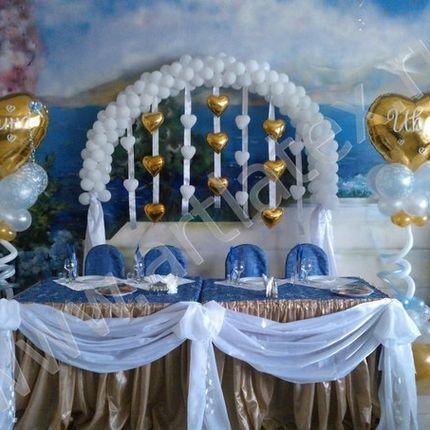 Оформление зала воздушными шарами, цена за 1 единицу