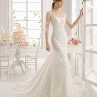 Свадебное платье Amar от Aire Barcelona.
