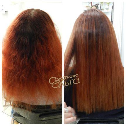 Стойкое выпрямление  волос BEAUTACH