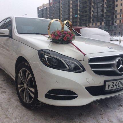Аренда Mercedes Benz E212 белый рестайлинг, цена за 1 час