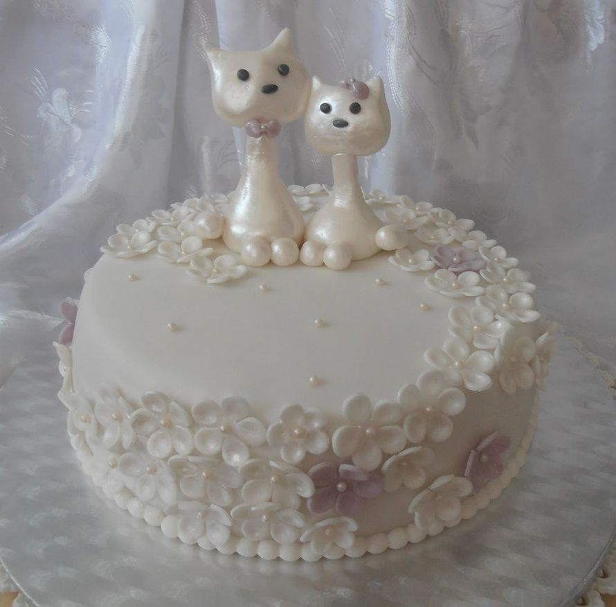 Торт з марципаном фото
