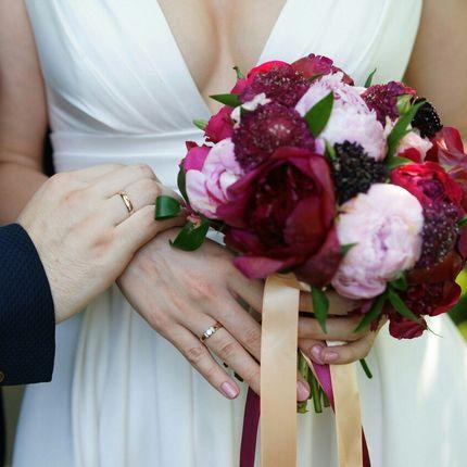 Букет невесты в стилистике торжества