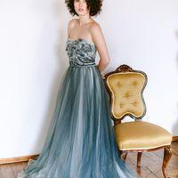 """Свадебное платье """"Dark Aquamarine"""""""