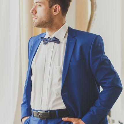 Классический синий костюм PatrikMan
