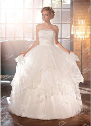 """Элегантное  корсетное  свадебное  платье.Цена  48300  рублей. - фото 11961100 Интернет-магазин свадебных платьев """"Fleur d'Orange"""""""