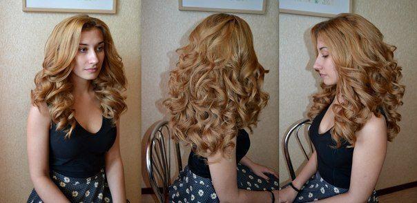 Как пышно сделать укладку волос