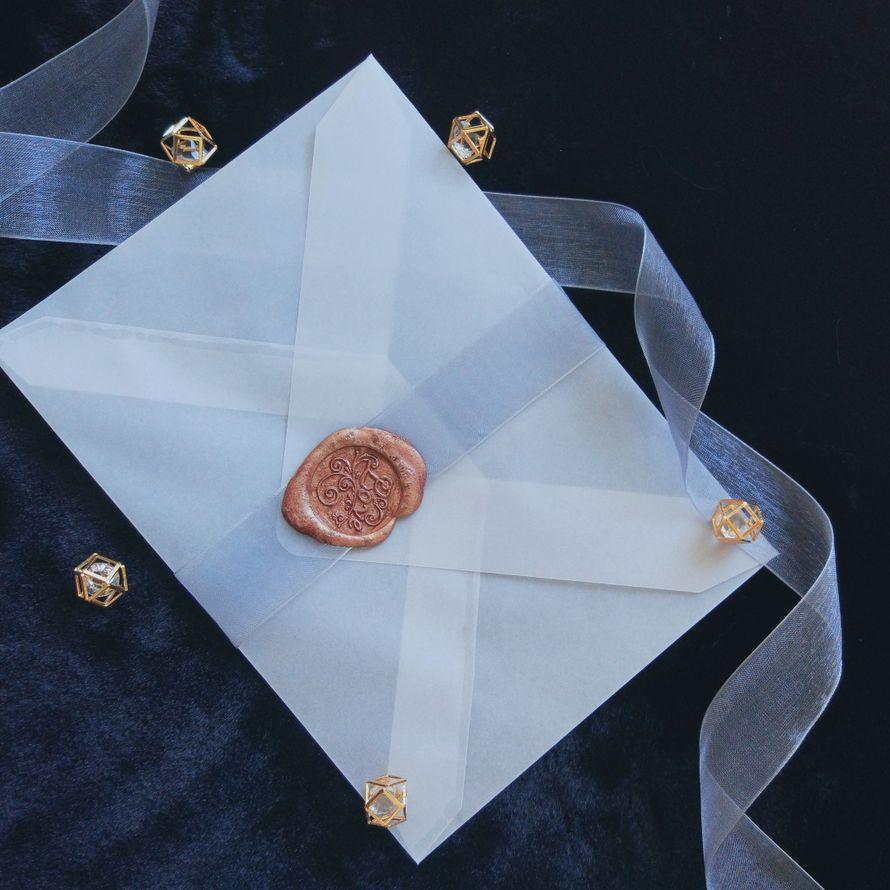 Воздушные конверты из кальки