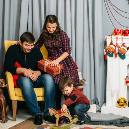 Семейная фотосъёмка, 1-1,5 часа