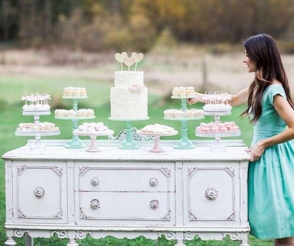 Фото 12056858 в коллекции Кэнди бар как полноценный элемент Вашей свадьбы... - WedDay - декор и флористика
