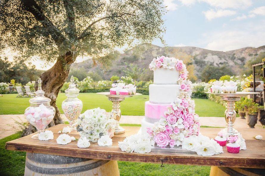 Фото 12056860 в коллекции Кэнди бар как полноценный элемент Вашей свадьбы... - WedDay - декор и флористика