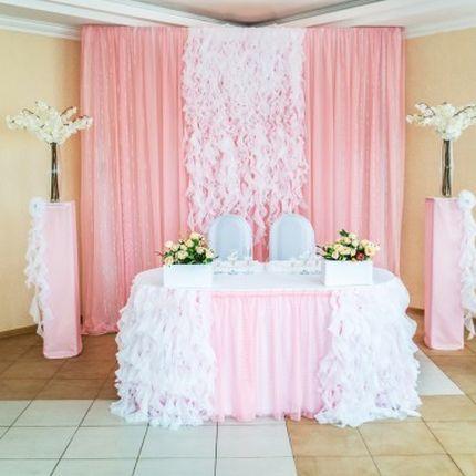 Декорирование свадебного зала