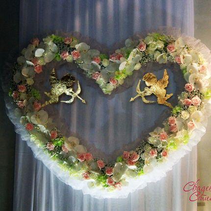 Сердце свадебное аренда