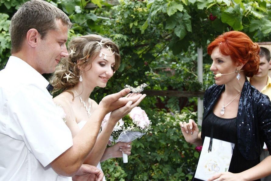 Бабочки на свадьбе. - фото 12438556 Ведущая и церемониймейстер Лилия Шаталова