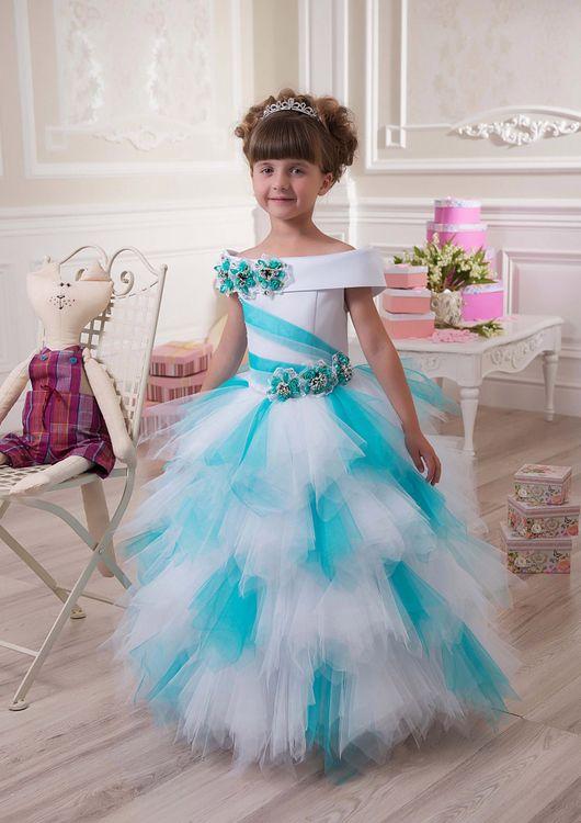 Фото платья для девочек новогодние
