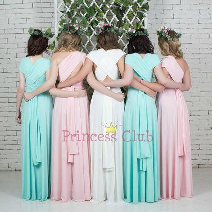 Пошив платья для подружек невесты