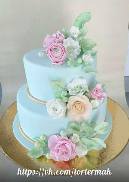 Фото 12169482 в коллекции Свадебные торты нового сезона - Мастерская тортов Ольги Ермак