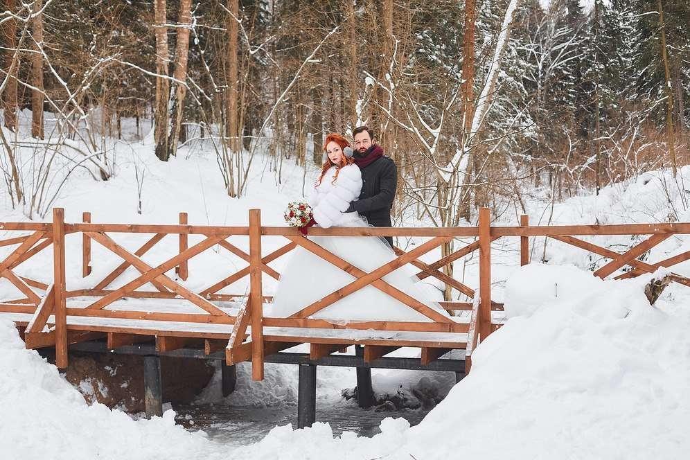 Фото 16966530 в коллекции Зимняя фотосессия. Аня и Виталий. - Фотограф Марина Арт