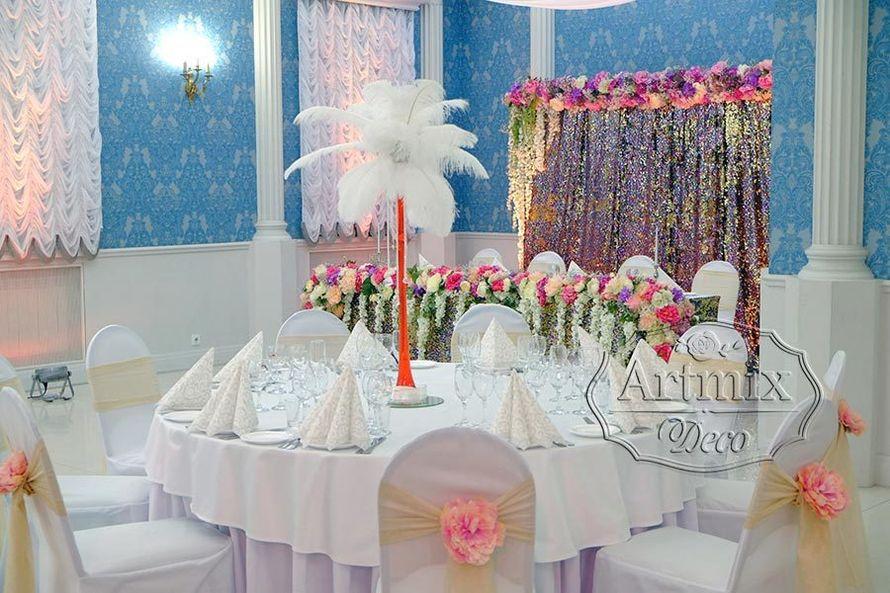 Оформление свадьбы в индивидуальной стилистике