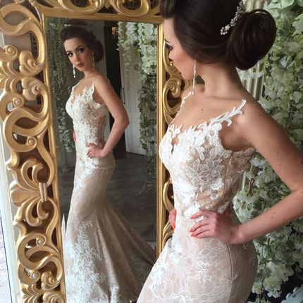 Свадебное платье Голден Ханд