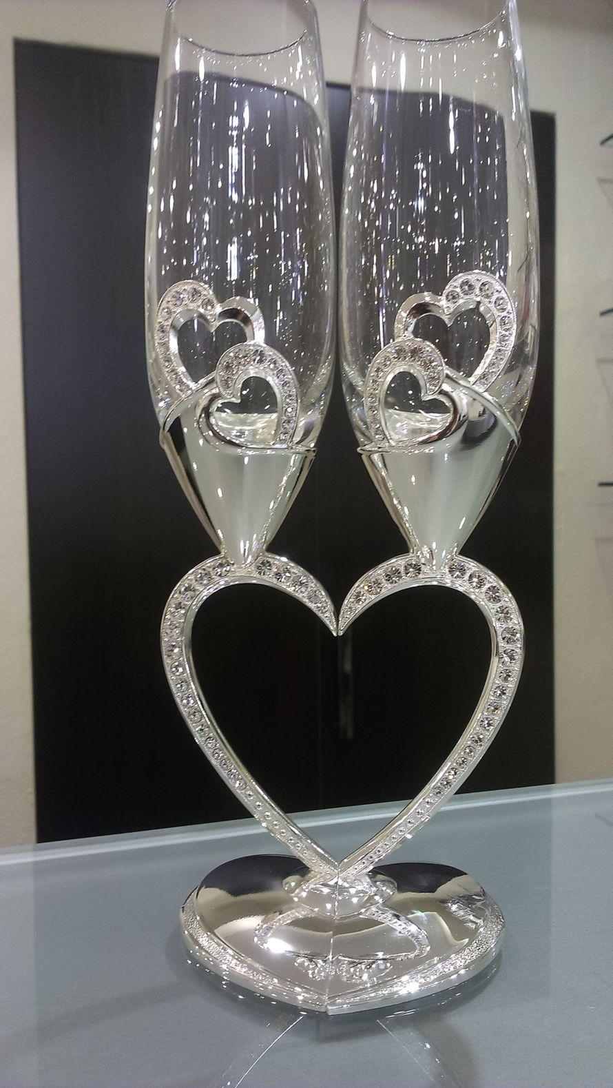 """Фото 2227910 в коллекции Свадебные бокалы,семейные очаги и банки - Магазин-салон """"Свадебный вальс"""""""