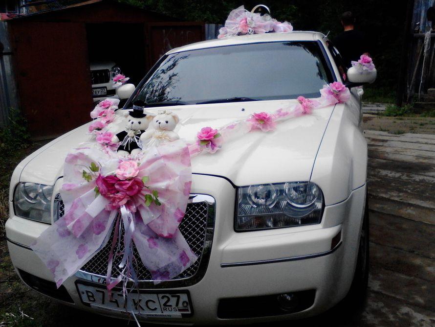 Роскошный эксклюзивный Крайслер 300С- единственный в Хабаровске- цвет- айвори, салон бежевая кожа от 1300руб/час - фото 1134809 Корякина Анна - прокат авто