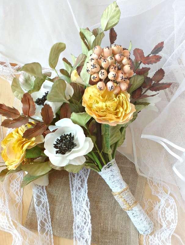 """Фото 14943056 в коллекции свадебный комплект ,,винтаж,, - Мастерская флористики """"Рodarki_irina"""""""