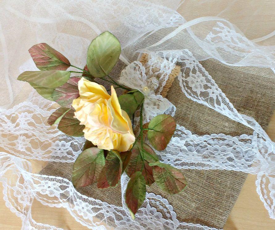 """Фото 14943062 в коллекции свадебный комплект ,,винтаж,, - Мастерская флористики """"Рodarki_irina"""""""