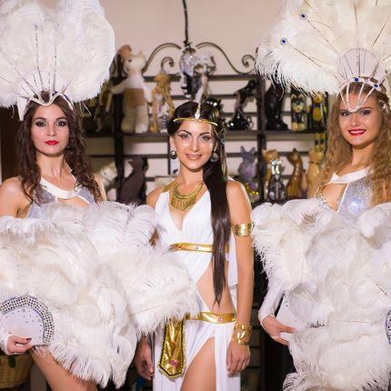 Выступление шоу-балета, 1 танец