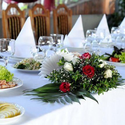 Цветочные композиции на стол