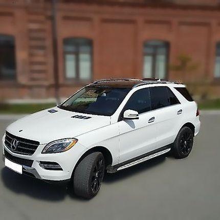 Аренда белоснежного Mercedes-ML 2014