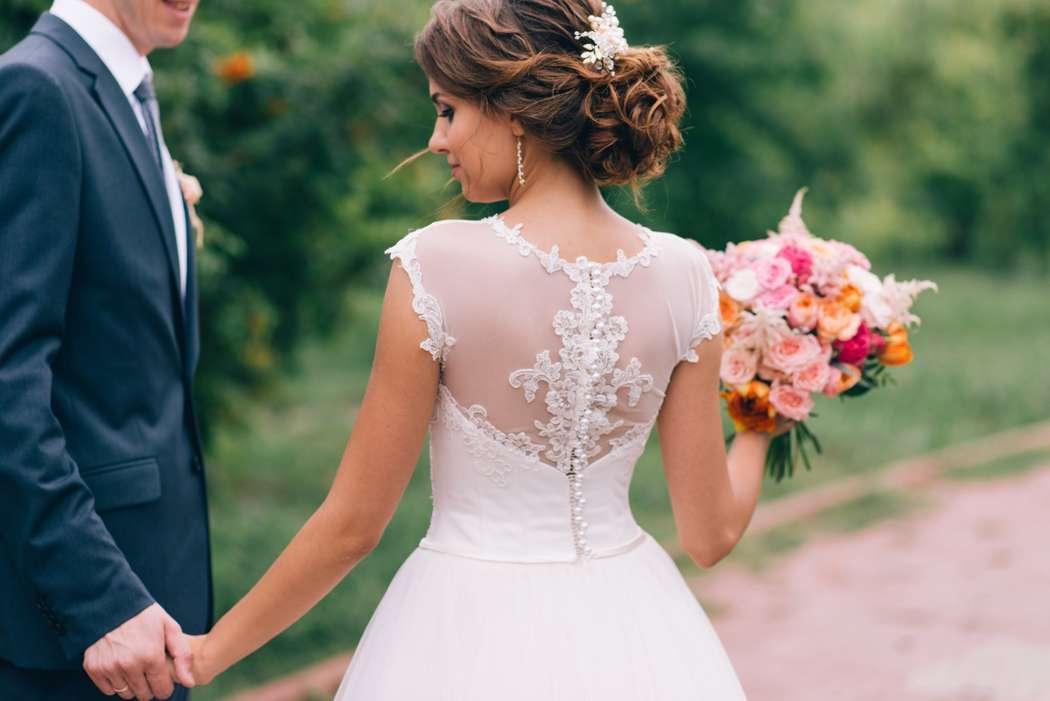 Свадебный образ для Кристины - фото 12322148 Визажист и мастер по причёскам Елена Алатырцева