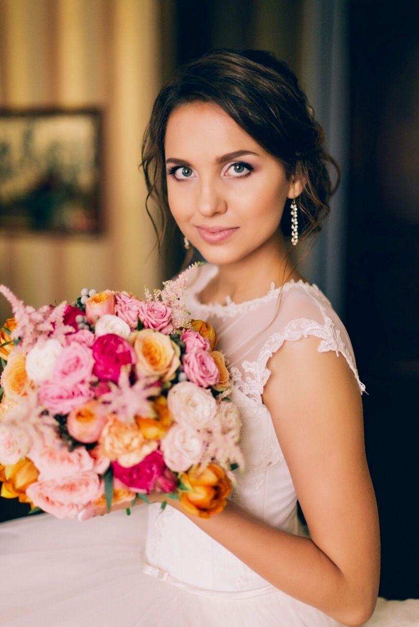 Свадебный образ для Кристины - фото 12322150 Визажист и мастер по причёскам Елена Алатырцева