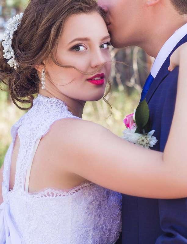 Свадебный образ для Александры - фото 12322152 Визажист и мастер по причёскам Елена Алатырцева